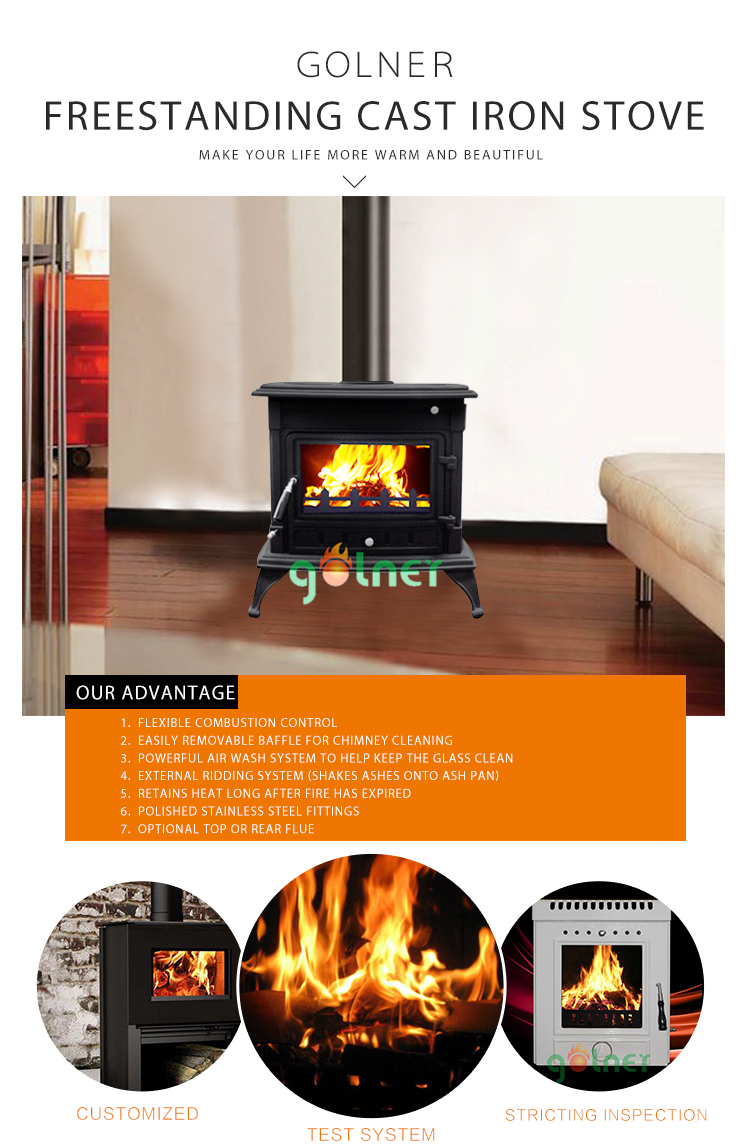 Z-m14 Cast Iron Wood Stove/freestanding Wood Stove For Sale/stove ...