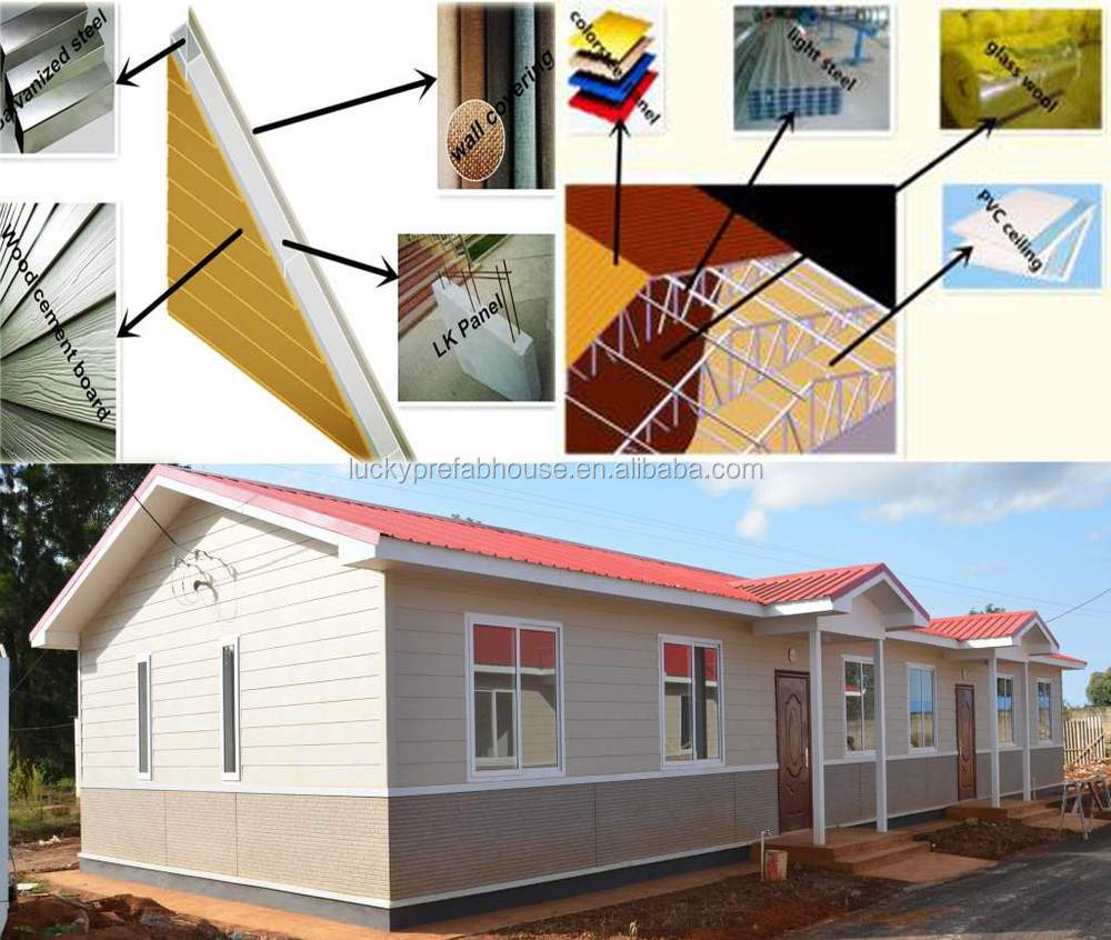 Low cost prefab house designs for kenya prefab house best price