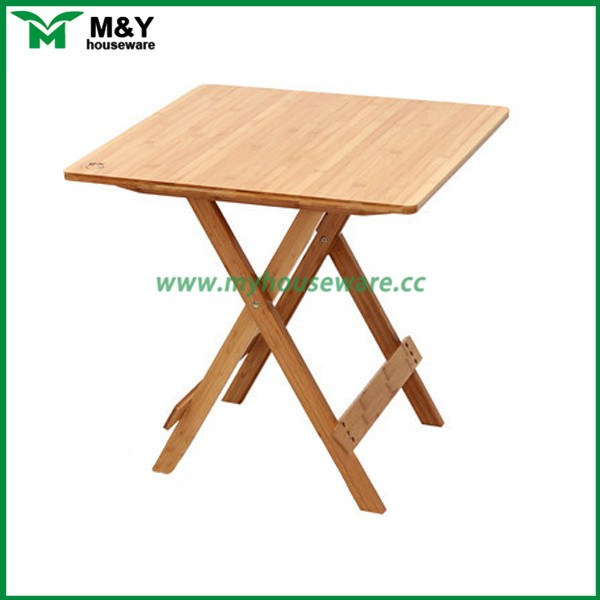 small portable bamboo wood folding table buy wood folding coffee table petrified wood tables. Black Bedroom Furniture Sets. Home Design Ideas