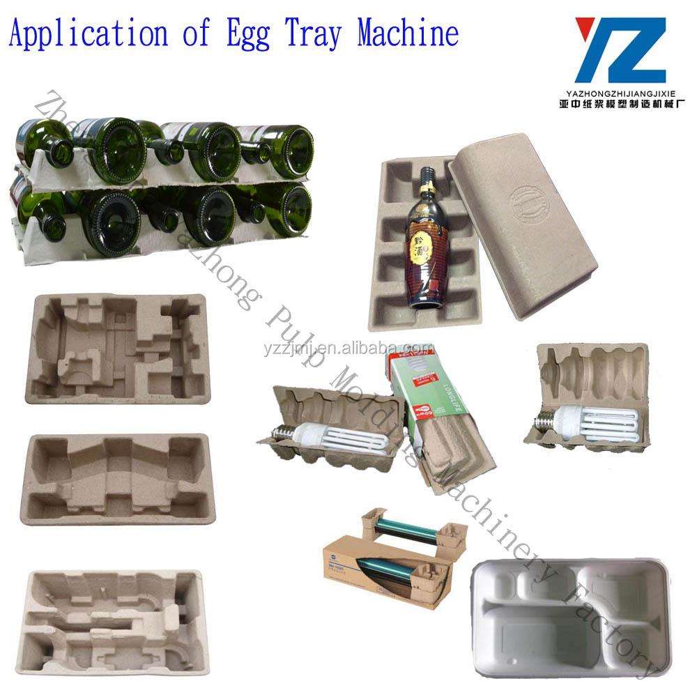 Bandeja de huevos pulpa papel electr nica pasta de papel for Bandejas para huevos