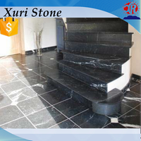 Factory direct sales black and white marble tile