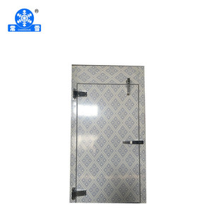 Famous brand cold room pu panel cool room door for cold room design