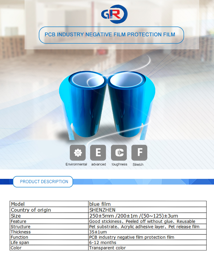 Blue Film For Pcb Manufacturers In China - Buy Blue Film For
