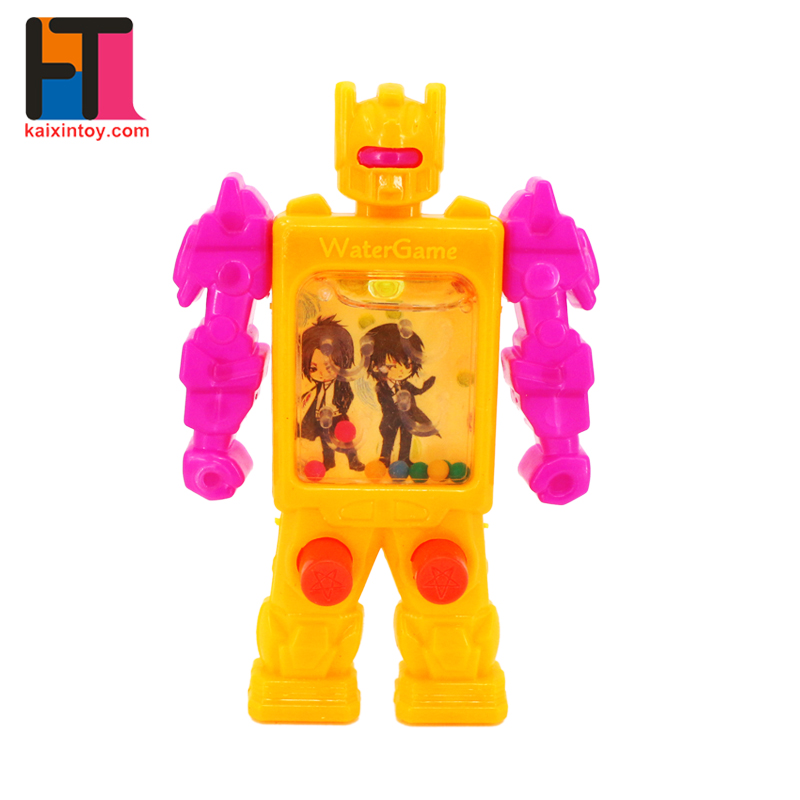 best selling products robot design handheld games ring water toys for kids