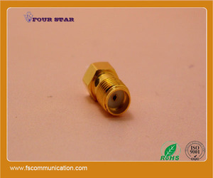 rf adapter sma coaxial connector female to ufl male connector