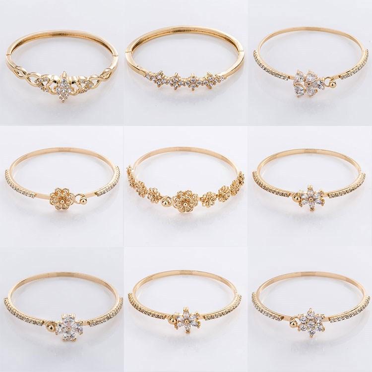 18k 24k New Gold Bracelet Designs Woman - Buy Gold Bracelet,New ...