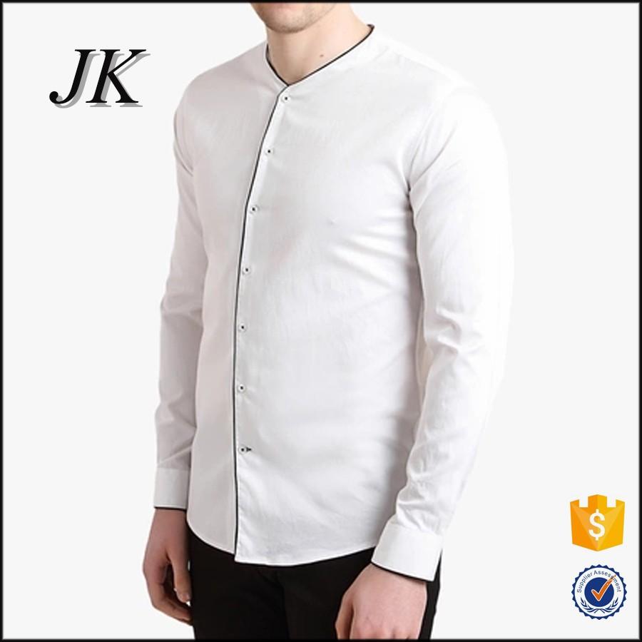 рубашки без воротника 6