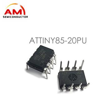 Attiny85-20pu Microcontroller 8-bit Attiny Avr Risc 8kb Flash 8-pin Pdip -  Buy Attiny85-20pu,Microcontroller,Electronic Components Product on