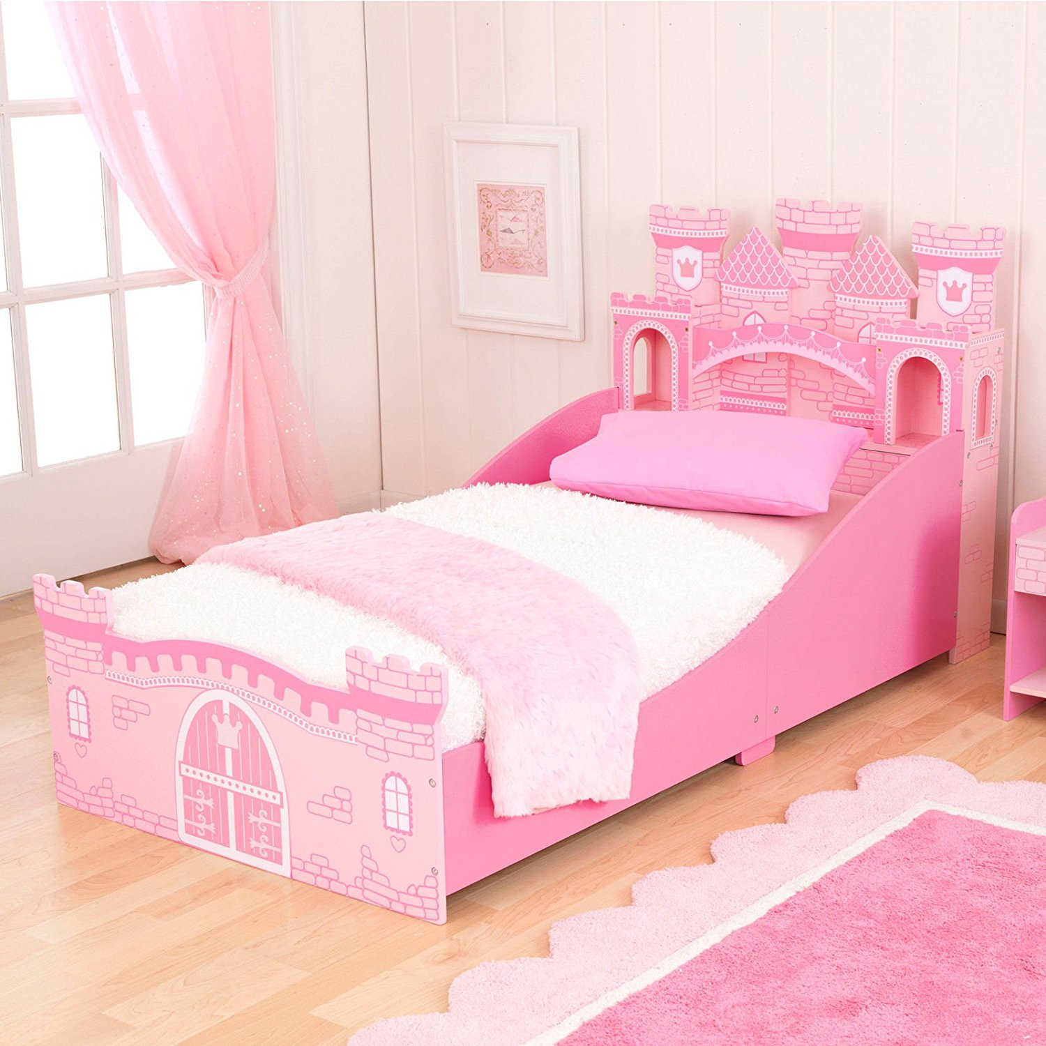 Get Quotations KidKraft Girls Princess Castle Toddler Bed