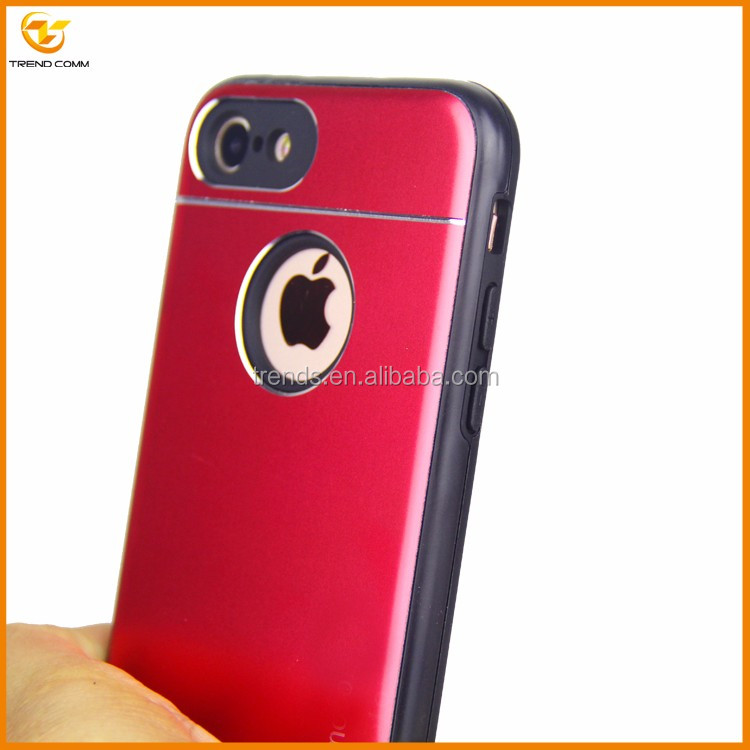 cheap price tpu aluminum cellular case for iphone 7