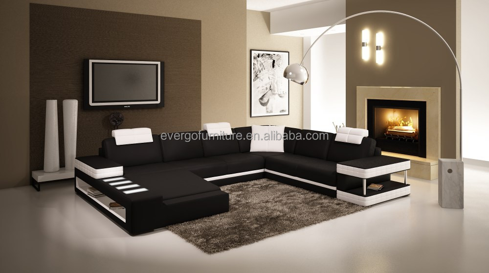 Corner Living Room Sofa Sectional Living Room Couch With Led Light   Buy  Sectional Couch Set,Couch With Led Light,Living Room Elegant Couch Product  On ...