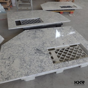manmade synthetic stone wholesale kitchen countertops