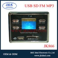 JK866 Korean Big LCD usb mp3 player module