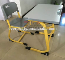 Hot Selling Class Furniture Assemble Cheap School Adult Study Tables Chair