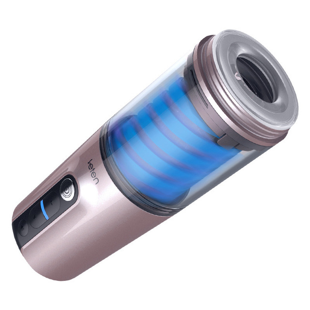 Piston Masturbator for Men Automatic Masturbation Cup Realistic Vagina Strong move Vibration 7 frequency 7 Speed sex toys