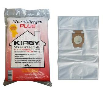 Micron Magic Allergen Universal non-woven Cloth Dust Bag Kirby 204814 T style Vacuum Cleaner Bag