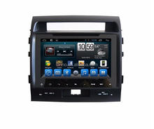 2 din car mp4 mp3 player for Toyota LAND CRUISER 200 2008 2009 2010 car gps dvd music player radio bluetrooth TPMS 3g