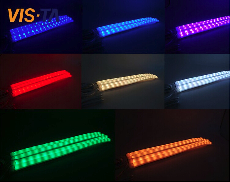 Colorful car decoration interior atmosphere lamp,underbody light, auto inner led strip light
