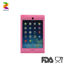 For Apple ipad mini silicone back cover tablet PC case protecting shell