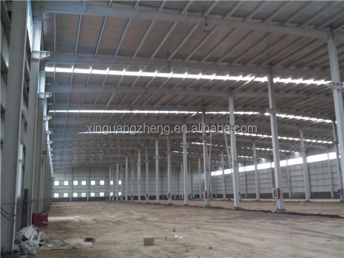 galvanized prefab portable steel structure warehouse