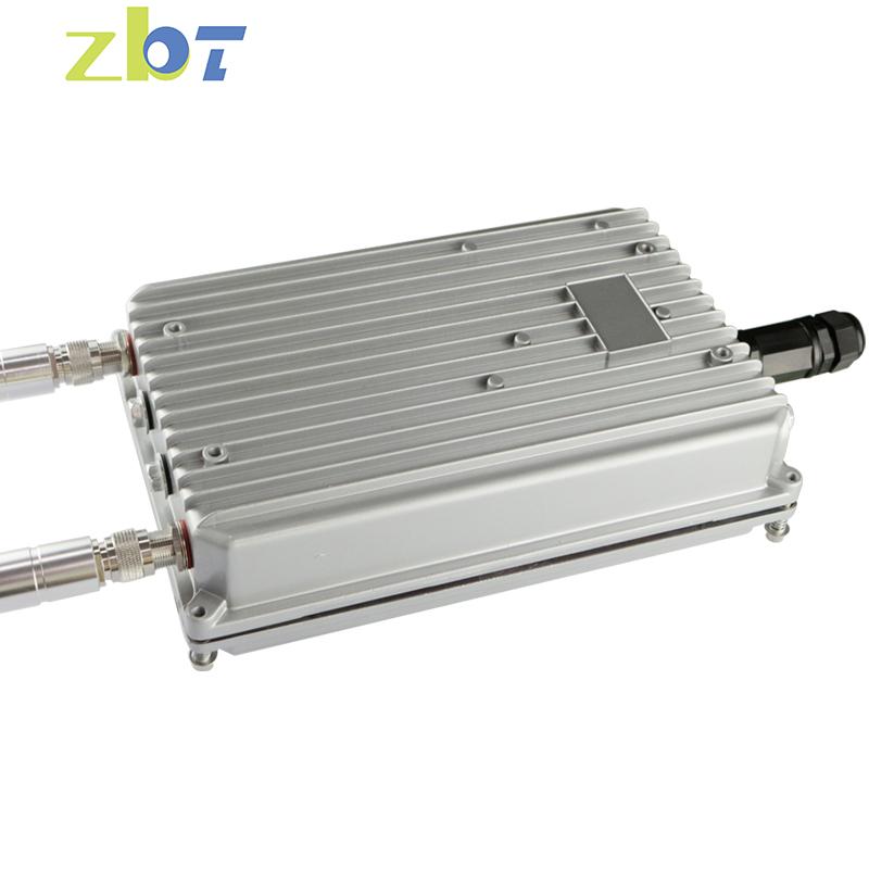 Hostpot luar Tahan Air logam shell 4g router dengan antena eksternal