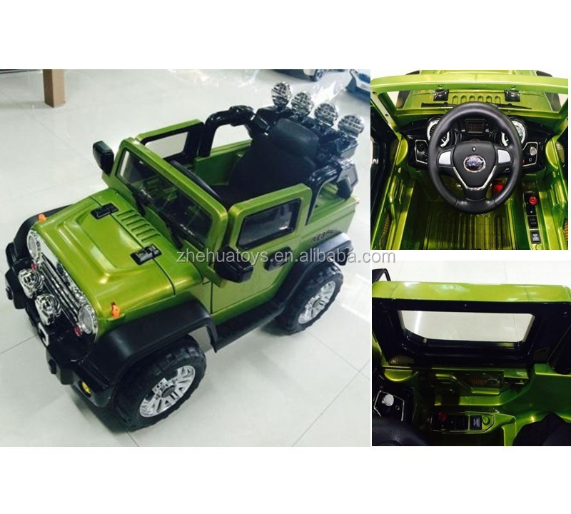 Newest 12v Children Battery Operated Cars Jeep Baby Ride On Toy Car