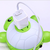 USB charger Turtle night light with sensor and High quality LED plug in night light