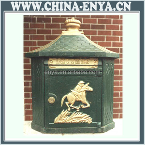Made in china decorative mailboxes