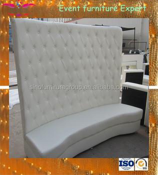 Sinofur Hall White Tufted High Back Sofa - Buy High Back Sofa,Button Tufted  Upholstered Sofa Set,Curved Back Sofa Product on Alibaba.com