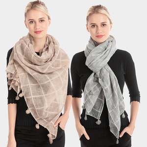 RM148 Ladies Colorful Acrylic Woven Ruana Cappa Shawls Stole Office Ladies Scarf