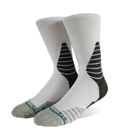 High Quality Design Type Custom Logo Rugby Running Sport Socks