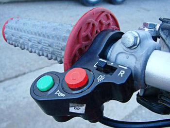 etc. Interrupteur Guidon Vélo Moto Mobylette E Roller Scooter Pour DEL Lumière Klaxon