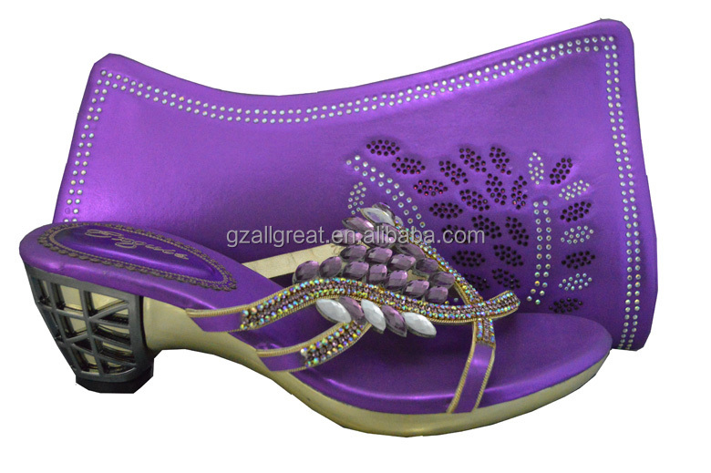 Italian Shoes And Bags To Match Women Royal Blue Color