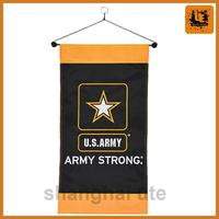 Wholesale digital printing decoration flat vinyl hanging banner with logo UV