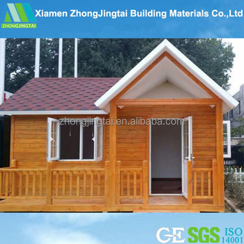 Easy Install And Low Cost Small Wooden House India Price