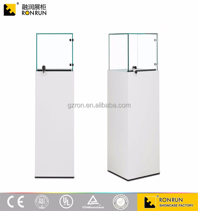TOP design modern pandora style wooden glass counter lady shop showcase jewellery showroom display cabinet
