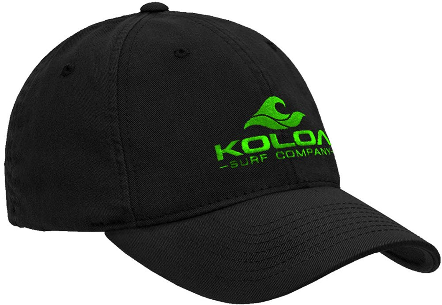 36977ee1b63 Get Quotations · Koloa Surf Wave Logo Unstructured Soft Hats. Low Profile  Adjustable Caps