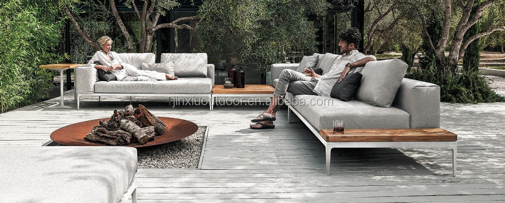 luxus garten outdoor tiefe sitz lounge teak gartenm bel grid set buy garten gartenm bel teak. Black Bedroom Furniture Sets. Home Design Ideas