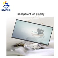 See through transparent lcd display connect to computer