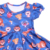 Summer Clothings For Party Wear Durabale Fabric Soft Care Girls Frocks Design Cartoon Zoo Animals Printed Kids Dancing Dress