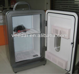 12L silver mini deep refrigerator freezer/ electric cool refrigerator CE