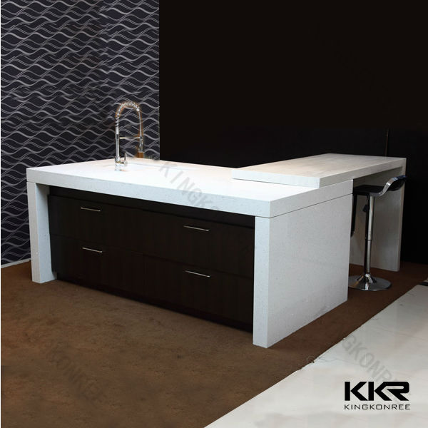 Great One Piece Bathroom Sink And Molded Countertop
