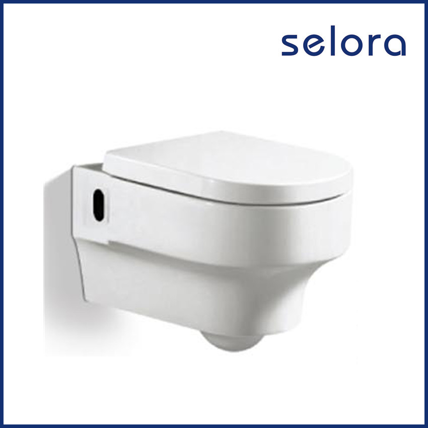 wholesale bathroom sanitary ware durable porcelain toilets wall hung with european standard