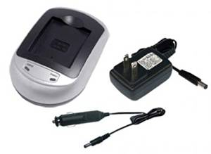 Battery Charger for CASIO NP-130, NP-130A, CASIO Exilim EX -ZR2000 EX-10 EX-10BE EX-FC300S EX-FC400 EX-FC400S EX-H30 EX-H30BK EX-H35 EX-ZR100 EX-ZR1000 EX-ZR1000BK EX-ZR1000RD EX-ZR1000WE EX-ZR100BK EX-ZR100WE EX-ZR1100 EX-ZR1100BK EX-ZR1100VP EX-ZR1100WE EX-ZR1100YW EX-ZR1200 EX-ZR1200BK