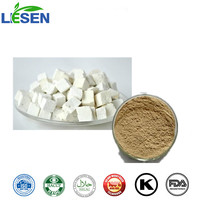 100% Natural Low Pestides USP Standard Poria Cocos Extract Polysaccharides