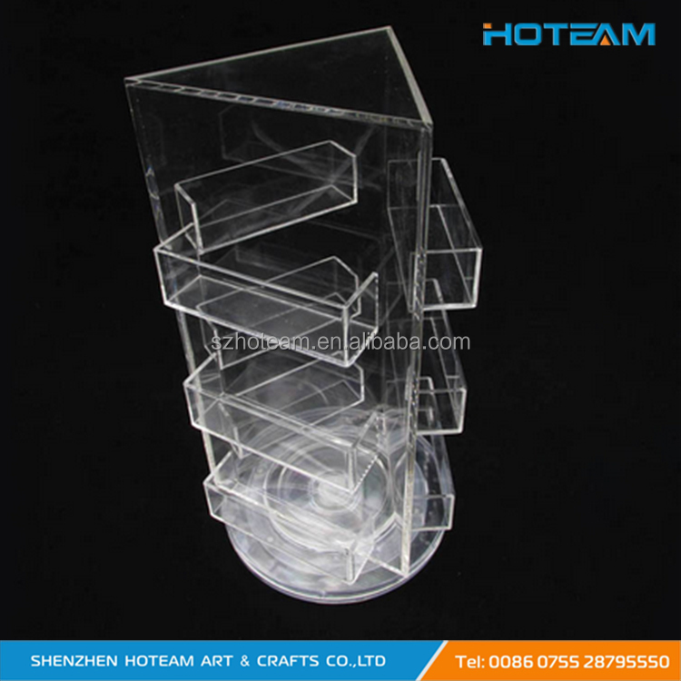 Triangle Rotating Clear Acrylic Business Card Holder Wholesale - Buy Business Card Display Stand,Christmas Card Display Stand,High Transparency ...