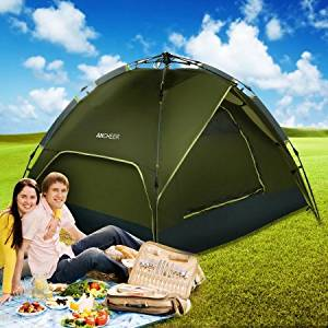 4-Person Camping Tent,Hiking Waterproof Dome Tent