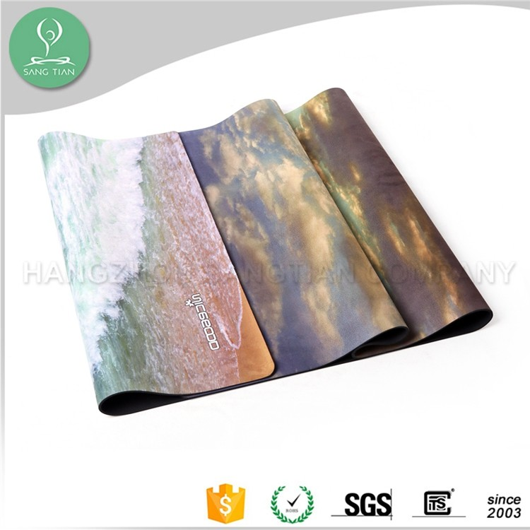 Eco Durable Slip Resistant Better Sticky Yoga Mat With