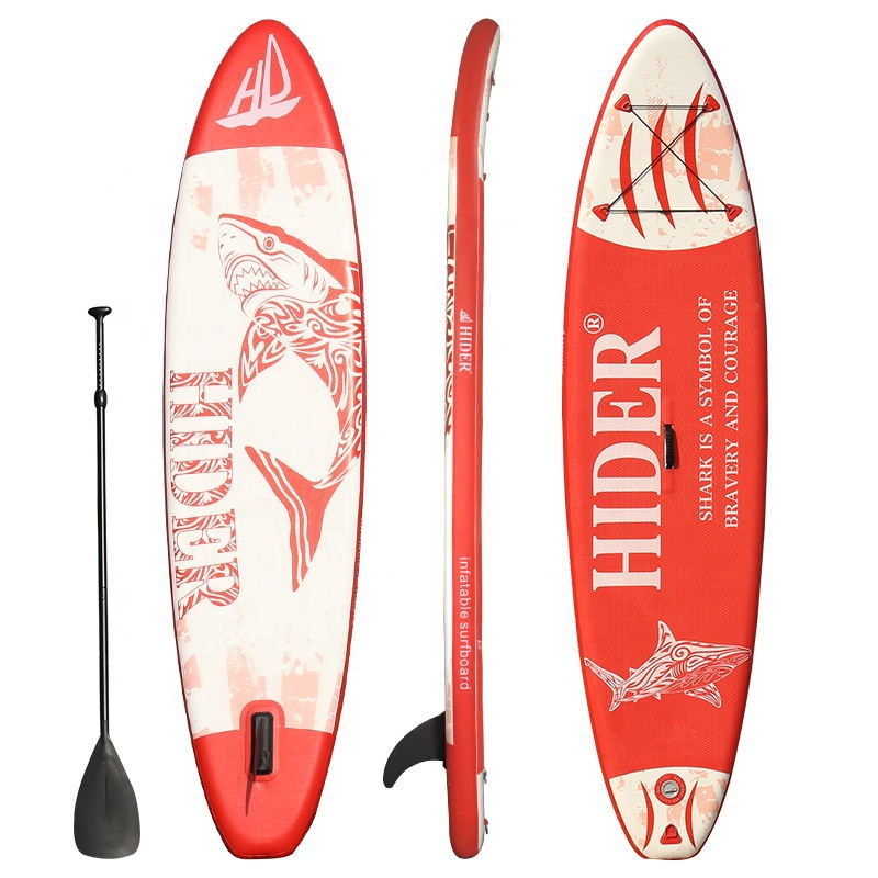 CE angepasst aufblasbare stand up paddle board rot paddle surf sup board für Yoga und Pilated und manufaktur in China