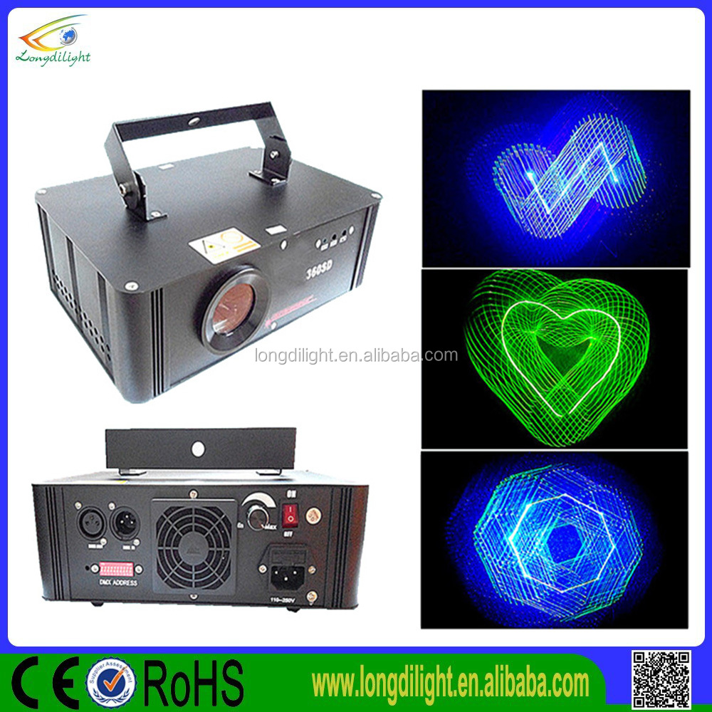 new products disco 3d programmable laser light show